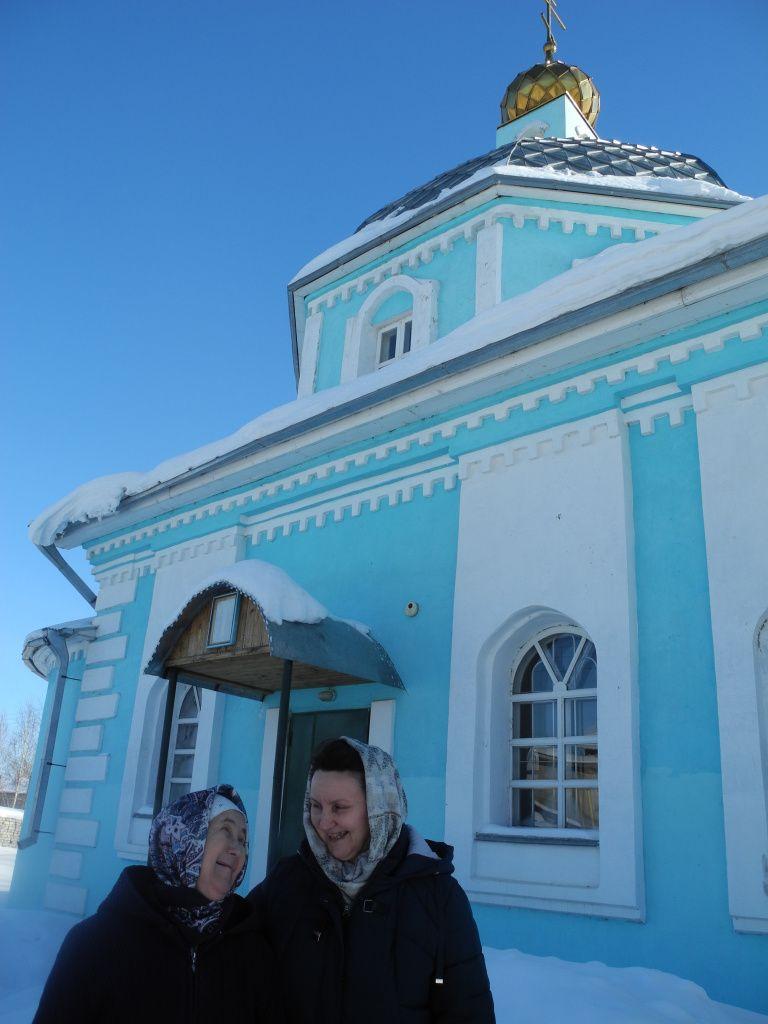 Римма Николаевна сдружилась с семьей священника.JPG