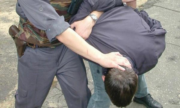 как полицейские ловят преступника