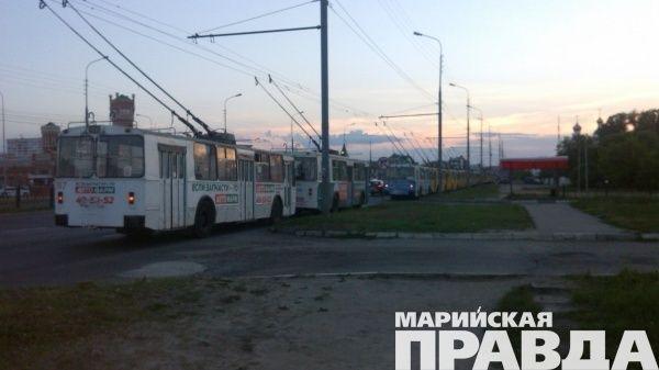 Филиал Мариэнерго ограничит энергоснабжениеМП «Троллейбусный транспорт»