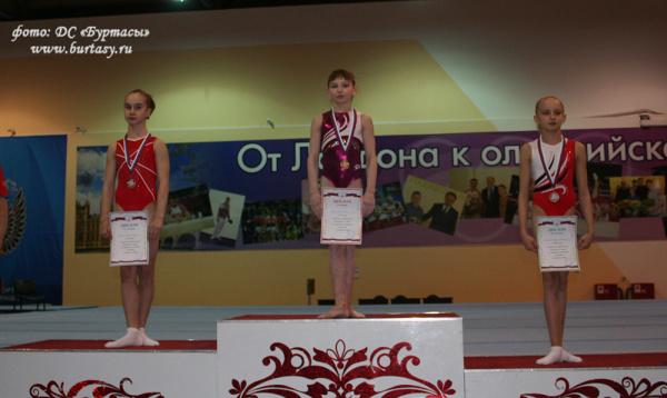 Гимнастка Анастасия Огорелышева изЙошкар-Олы завоевала «бронзу» вПензе
