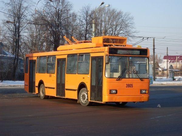 Такой троллейбус скоро будет
