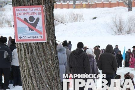 ВКурской области готовят места для крещенских купаний