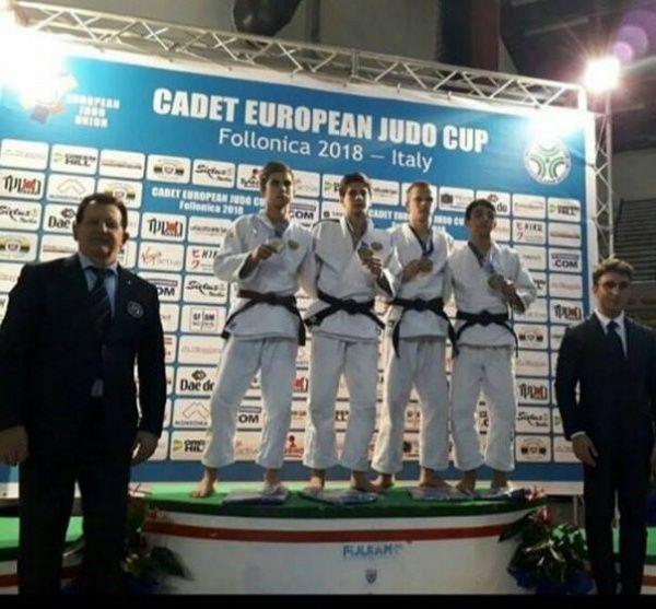 Тюменские кадеты завоевали первое место наКубке Европы подзюдо