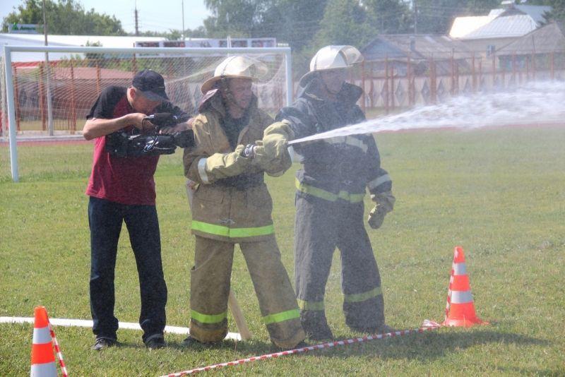 Смотр конкурс подразделений добровольной пожарной охраны