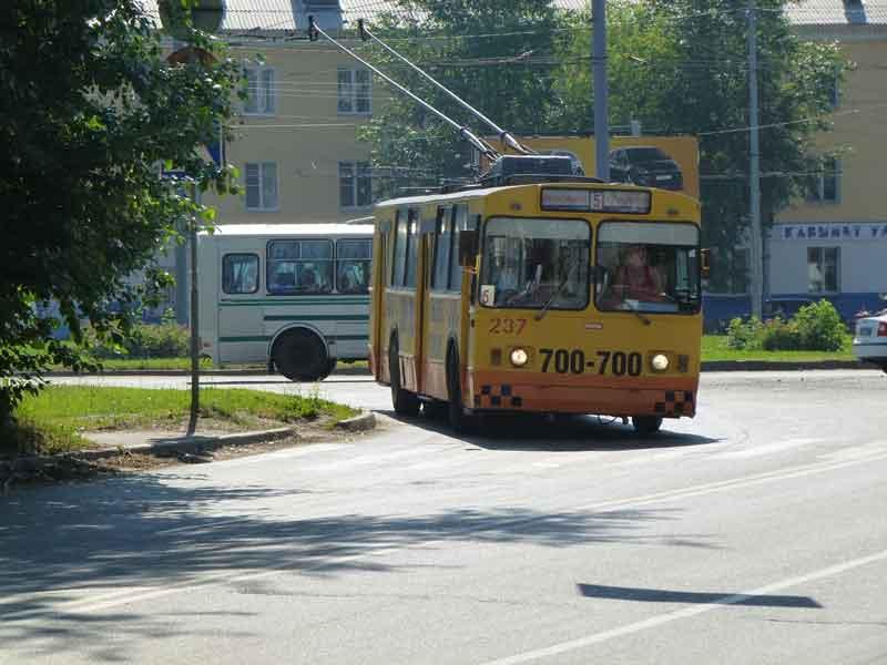 на троллейбус в Йошкар-Оле