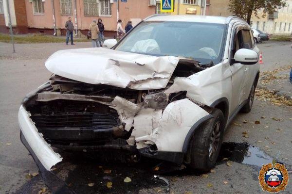 ВЙошкар-Оле 57-летняя автоледи устроила ДТП синомаркой