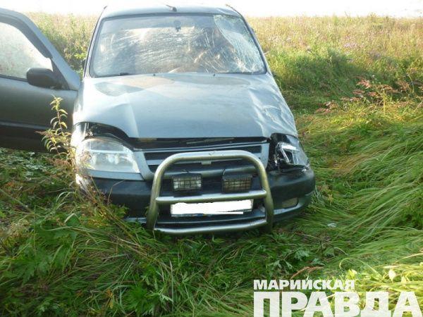 ВМарий Эл шофёр иномарки сбил пешехода-«невидимку»