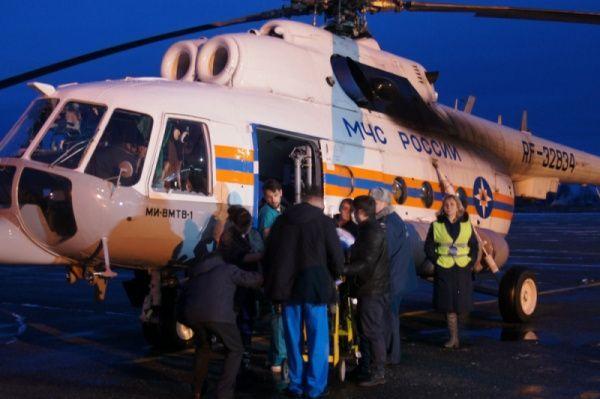 Руководитель Марий ЭлАлександр Евстифеев контролирует здоровье пострадавших иоказание иммедпомощи